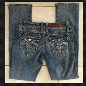 Rock Revival Debbie Straight Leg Jeans Size 29